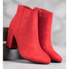 Sexy VINCEZA boots red 2