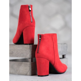 Sexy VINCEZA boots red 1