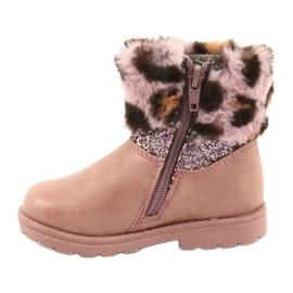 American Club American GC45 pink girls boots 2