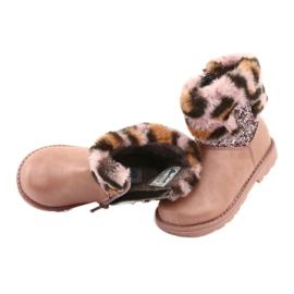 American Club American GC45 pink girls boots 5