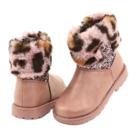 American Club American GC45 pink girls boots 4