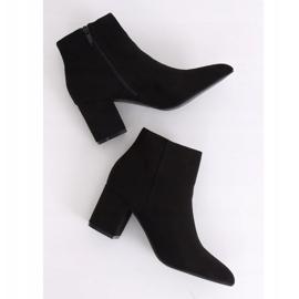Black high-heeled boots Q1AX608-1 Black 4