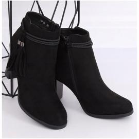 Black high-heeled boots VQ-31 Black 3