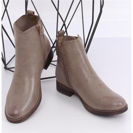 Beige Jodhpur boots for women 1304 Khaki 2