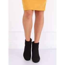 Black high-heeled boots G-7656 Black 1