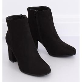 Black high-heeled boots G-7656 Black 6