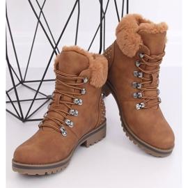 Women's camel boots Z172 Camel brown 1