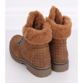 Women's camel boots Z172 Camel brown 3