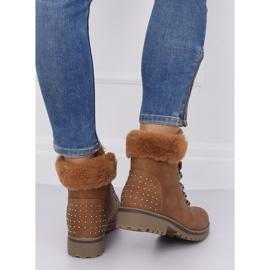 Women's camel boots Z172 Camel brown 4