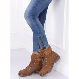 Women's camel boots Z172 Camel brown 2