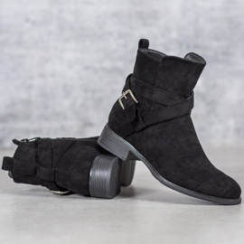 Filippo Suede Booties black 6