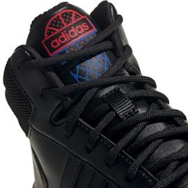 Adidas Hoops Mid 2.0 Jr EE8547 shoes black 3