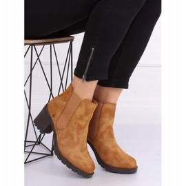 Camel Chelsea boots L2065 Camel brown 3