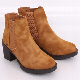 Camel Chelsea boots L2065 Camel brown 1