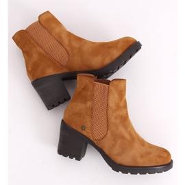 Camel Chelsea boots L2065 Camel brown 4