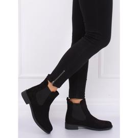 Black Jodhpur boots B-6856 Black 2