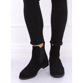 Black Jodhpur boots B-6856 Black 1