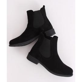 Black Jodhpur boots B-6856 Black 3