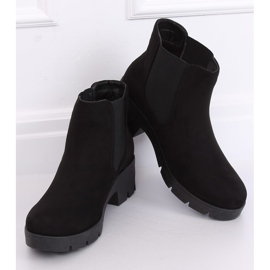Black Chelsea boots with thick soles 9996-6 Black 3