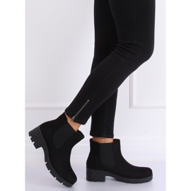 Black Chelsea boots with thick soles 9996-6 Black 2