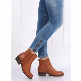 Boots Jodhpur boots camel 6391 Camel brown 2