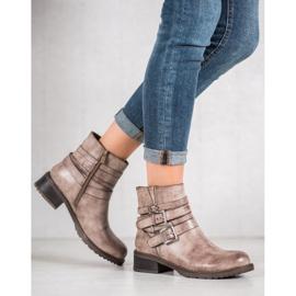 SHELOVET Classic Beige Boots 2