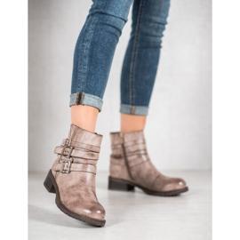 SHELOVET Classic Beige Boots 3