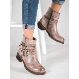 SHELOVET Classic Beige Boots 4