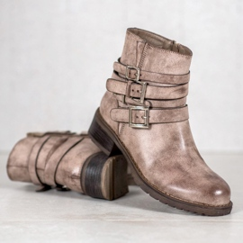 SHELOVET Classic Beige Boots 1