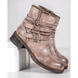 SHELOVET Classic Beige Boots 5