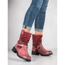 SHELOVET High Red Boots 3