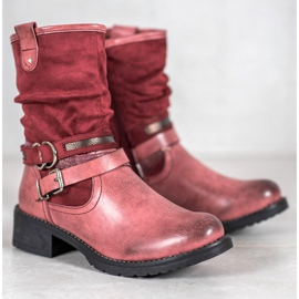 SHELOVET High Red Boots 5