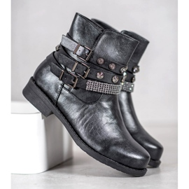 Forever Folie Graphite Boots grey 1