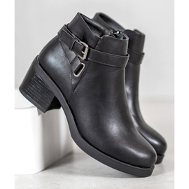 Anesia Paris Boots On A Post black 4