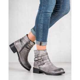 SHELOVET Classic Gray Boots grey 4
