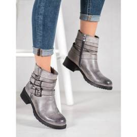 SHELOVET Classic Gray Boots grey 1