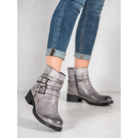 SHELOVET Classic Gray Boots grey 5