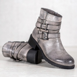 SHELOVET Classic Gray Boots grey 2