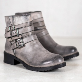 SHELOVET Classic Gray Boots grey 3