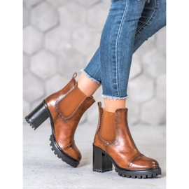 Seastar Slip-on Boots On The Platform brown 4