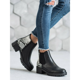 Seastar Chelsea Boots With Pattern black 4