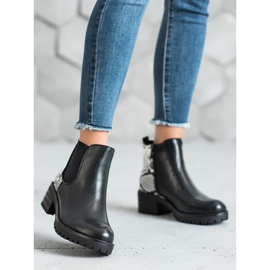 Seastar Chelsea Boots With Pattern black 5