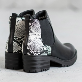 Seastar Chelsea Boots With Pattern black 2