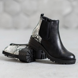Seastar Chelsea Boots With Pattern black 3
