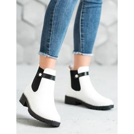 Seastar White Chelsea boots 1
