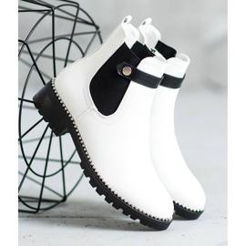 Seastar White Chelsea boots 2