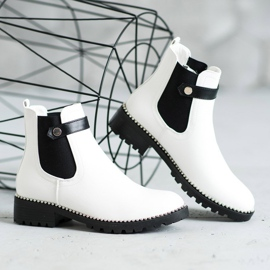 Seastar White Chelsea boots 3