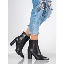 Seastar Eco-leather boots black 4
