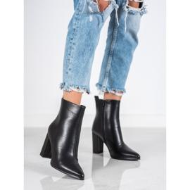 Seastar Eco-leather boots black 6