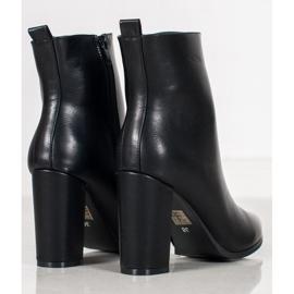Seastar Eco-leather boots black 1